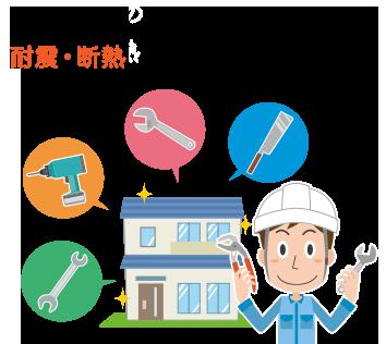 中古住宅の耐震・断熱