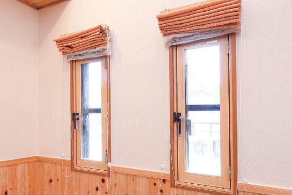 二重窓・ペアガラスに変更