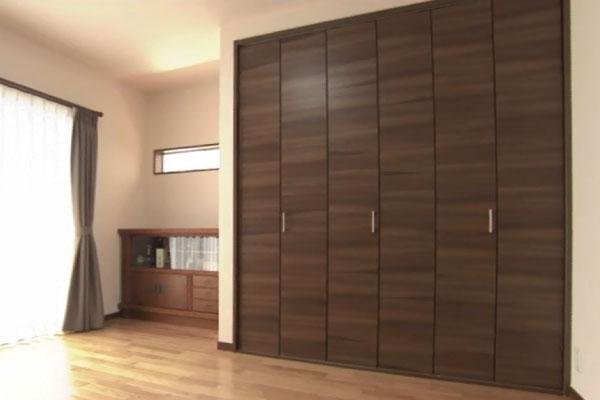 ライフスタイルに合わせた収納スペース