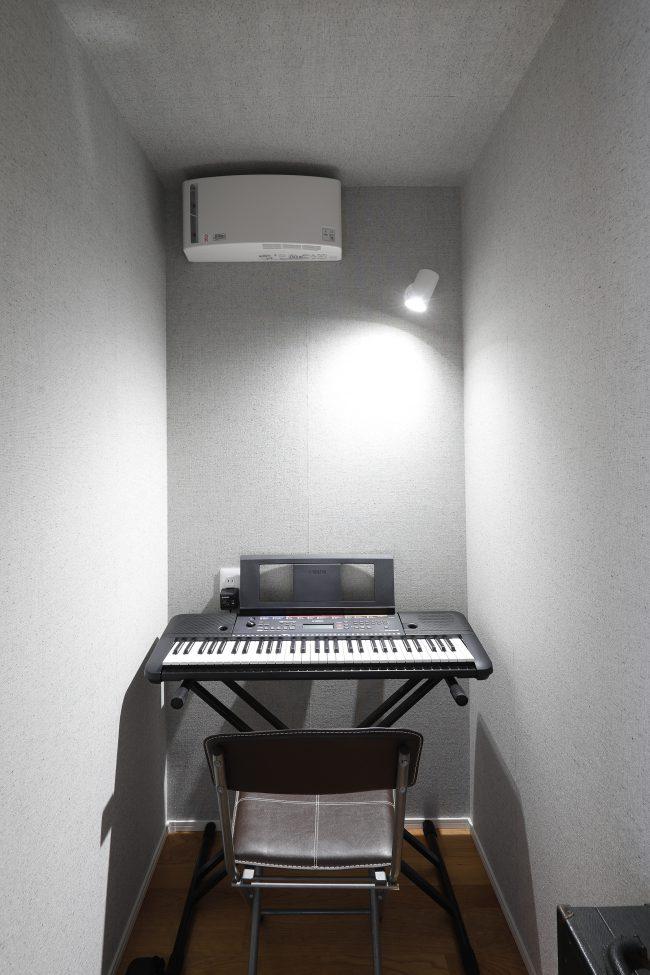ご近所を気にしない音楽室
