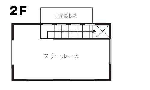 戸建リノベーション 桜ヶ丘モデルハウスリフォーム後2階間取り